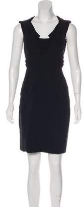 Zac Posen Mini Sheath Dress.