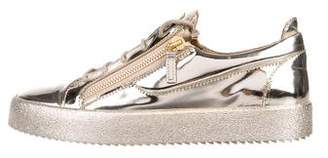 Giuseppe Zanotti Patent Leather Low-Top Sneakers