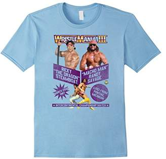 WWE Vintage WrestleMania III Steamboat vs Macho Man T-Shirt