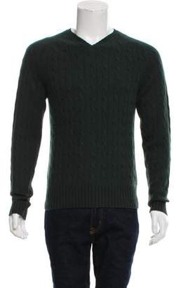 Façonnable Cashmere Cable Knit Sweater