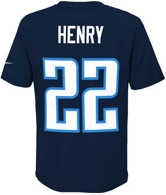 Nike Derrick Henry Tennessee Titans Pride Name and Number T-Shirt, Big Boys (8-20)