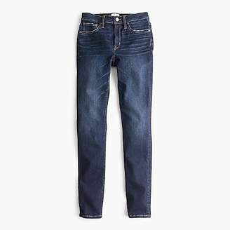 "J.Crew Tall 9"" high-rise toothpick jean in Solano wash"