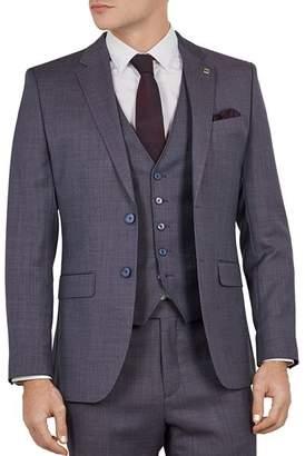 Ted Baker Bekdebj Debonair Birdseye Slim Fit Suit Jacket
