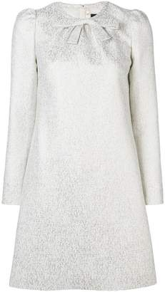 Paule Ka metallic brocade dress