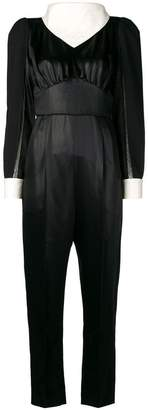 Fendi handkerchief collar jumpsuit