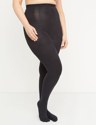 Lane Bryant Level 2 High-Waist Shaping Tights - Opaque