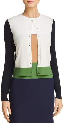 Paule Ka Color-Blocked Cardigan