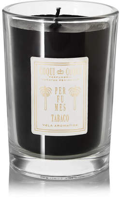Coqui Tabaco Scented Candle, 227g - Black