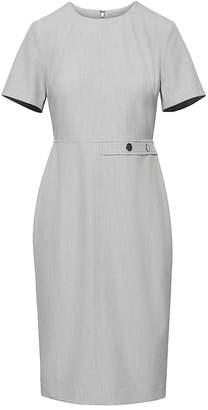 Banana Republic Machine-Washable Birdseye Side-Button Sheath Dress