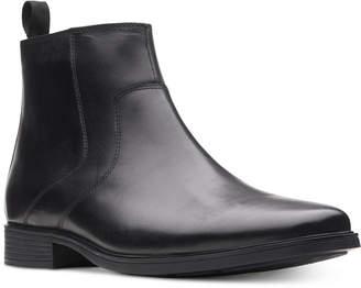 Clarks Men's Tilden Zip Waterproof Leather Boots
