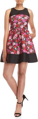 Kate Spade Salon Rose Odell Fit & Flare Dress