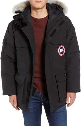 Canada Goose PBI Expedition Regular Fit Down Parka with Genuine Coyote Fur Trim