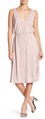 Rachel Roy Sleeveless Pleated Midi Dress