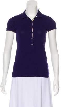 Burberry Jersey Short Sleeve Polo