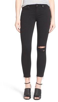 Women's Paige Transcend - Verdugo Crop Skinny Jeans $199 thestylecure.com
