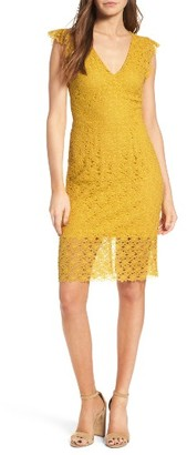 Women's J.o.a. Lace Sheath Dress $90 thestylecure.com