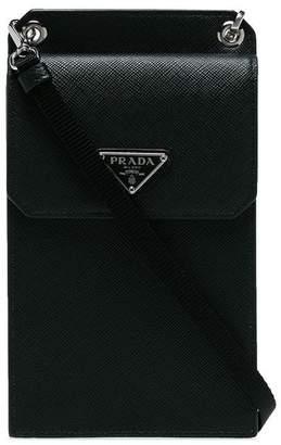 89233dd169a2 Prada small detachable strap leather pouch