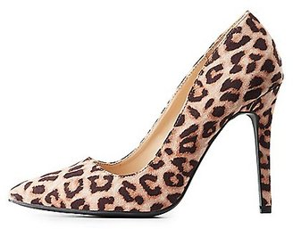 Leopard Pointed Toe Pumps $28.99 thestylecure.com