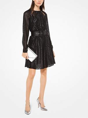 Michael Kors Herringbone Jacquard Dress