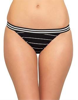 Solid & Striped Stacey Ribbed Bikini Bottom