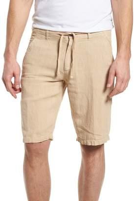Woolrich & Bros. Linen Shorts