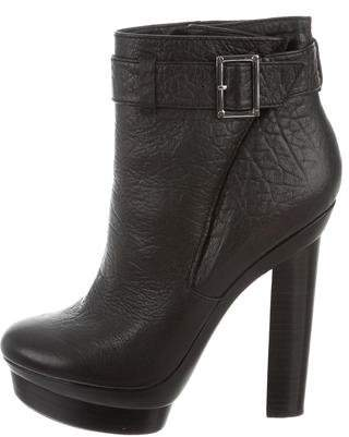 Rachel Zoe Round-Toe Ankle Boots