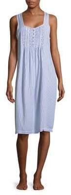 Carole Hochman Striped Night Gown