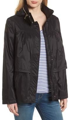 Tahari April Tiered Ruffle Anorak Jacket