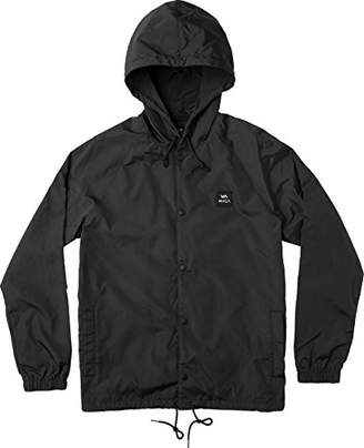 RVCA Men's Va Hooded Coach Jacket