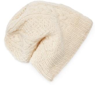Sijjl Women's SIJJL Wool Cable-Knit Beanie