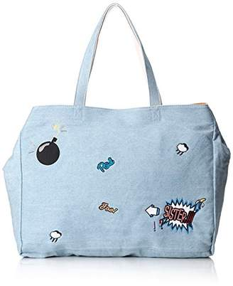 Paul & Joe Women's Tote Bag Tote Blue Size: