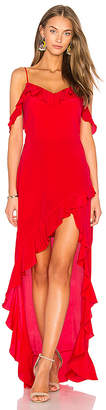 Amanda Uprichard Peony Maxi Dress