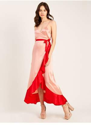 Morgan Lane Sofia Dress In Rose Cherry