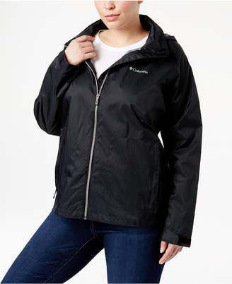 Columbia Plus Size Switchback Ii Omni-Shield Water-Repellent Jacket