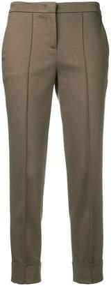 Fabiana Filippi cropped slim fit trousers