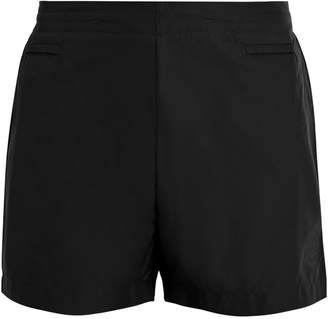 IFFLEY ROAD Pembroke logo-embossed running shorts