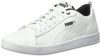 Puma Women's Smash WNS v2 Leather Perf Sneaker