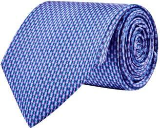 Canali Mosaic Silk Tie