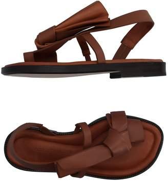 Cédric Charlier Toe strap sandals