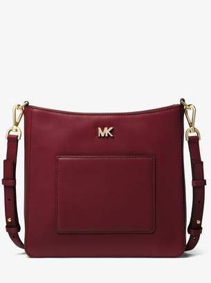 MICHAEL Michael Kors Gloria Leather Messenger