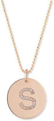 Chicco Zoe Initial Coin Pendant Necklace