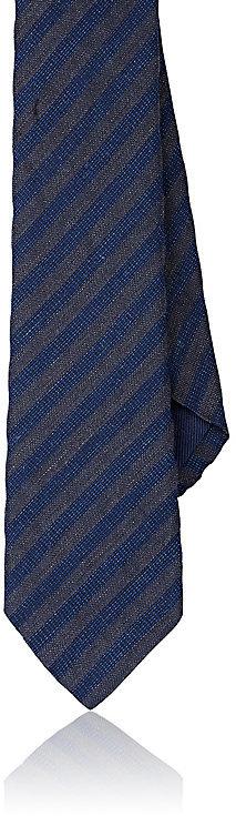 Barneys New YorkBarneys New York Men's Striped Silk Blend Necktie