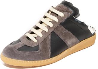 Maison Margiela Laceup Sneakers $495 thestylecure.com