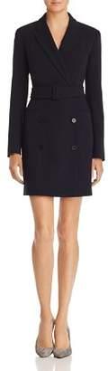 Theory Belted Blazer Dress