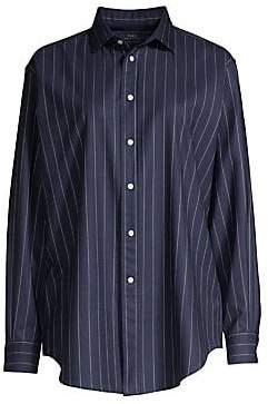 Polo Ralph Lauren Women's Long-Sleeve Striped Shirt