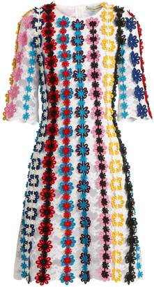 Mary Katrantzou Lennax guipure-lace mini dress