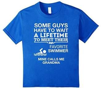 My Favorite Swimmer Calls Me Grandma Proud T-Shirt