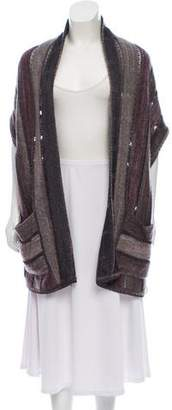 Missoni Open-Front Knit Cardigan