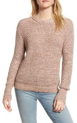 Ella Moss Melange Open Back Sweater
