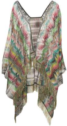 M Missoni lightweight multicoloured cardigan